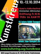 Kunstkreuz 2014 RAW-Programm